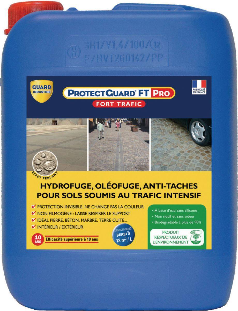 Protecteur Hydrofuge Anti Taches Et Anti Gel Protectguard Ft Pro Bidon De 5 L