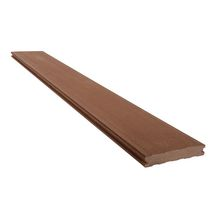 lame de terrasse deck bois composite forexia el gance lisse brun exotique silvadec 4000x138x23. Black Bedroom Furniture Sets. Home Design Ideas