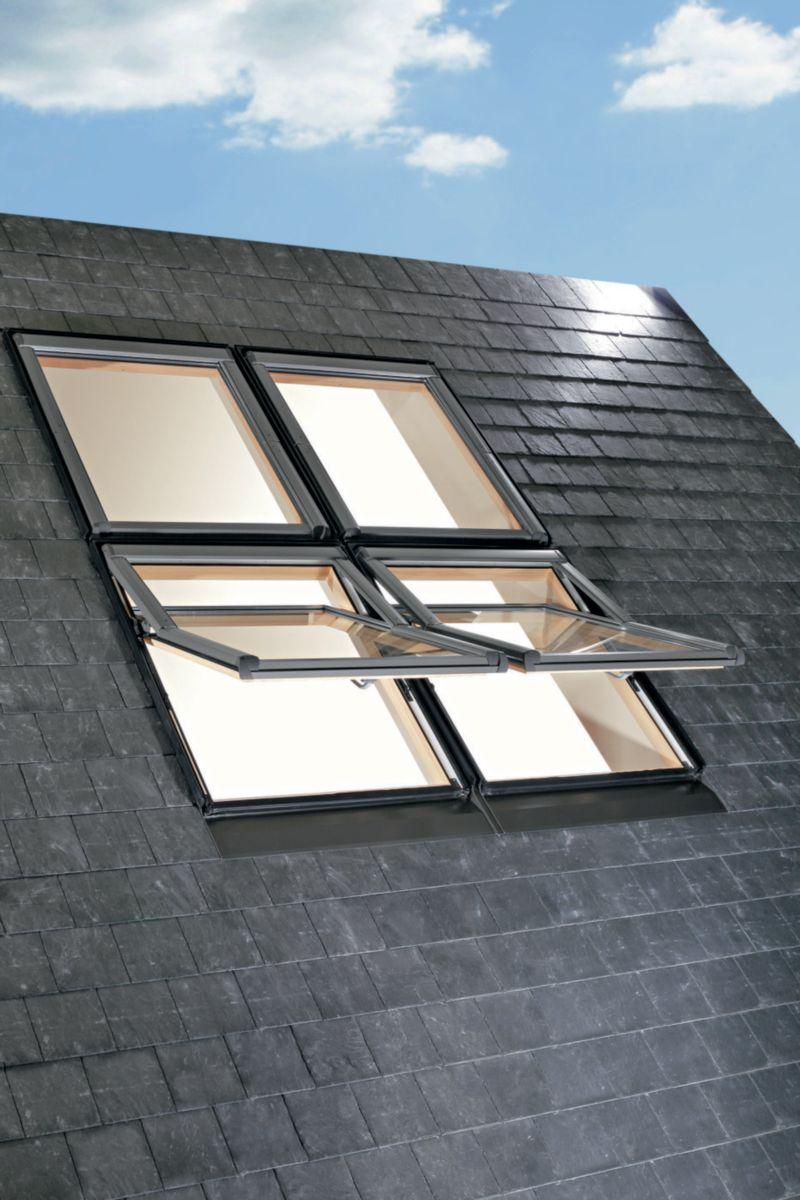 Roto Fenêtre De Toit à Projection Designo Wdf R79t H En Pin