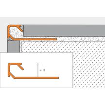 profil angle sortant schl ter quadec at alu titane anodis mat l 2 5 m p 10 mm. Black Bedroom Furniture Sets. Home Design Ideas