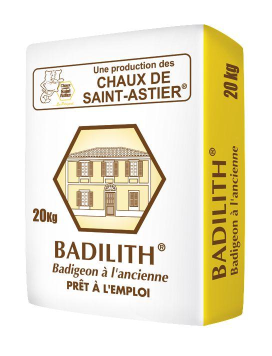 Badigeon Pour Finition Décorative Badilith - Ral 86 - Sac De 20 Kg