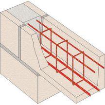armature de linteau 4 filants 2ha10 2ha6 ha5 l 6 m. Black Bedroom Furniture Sets. Home Design Ideas