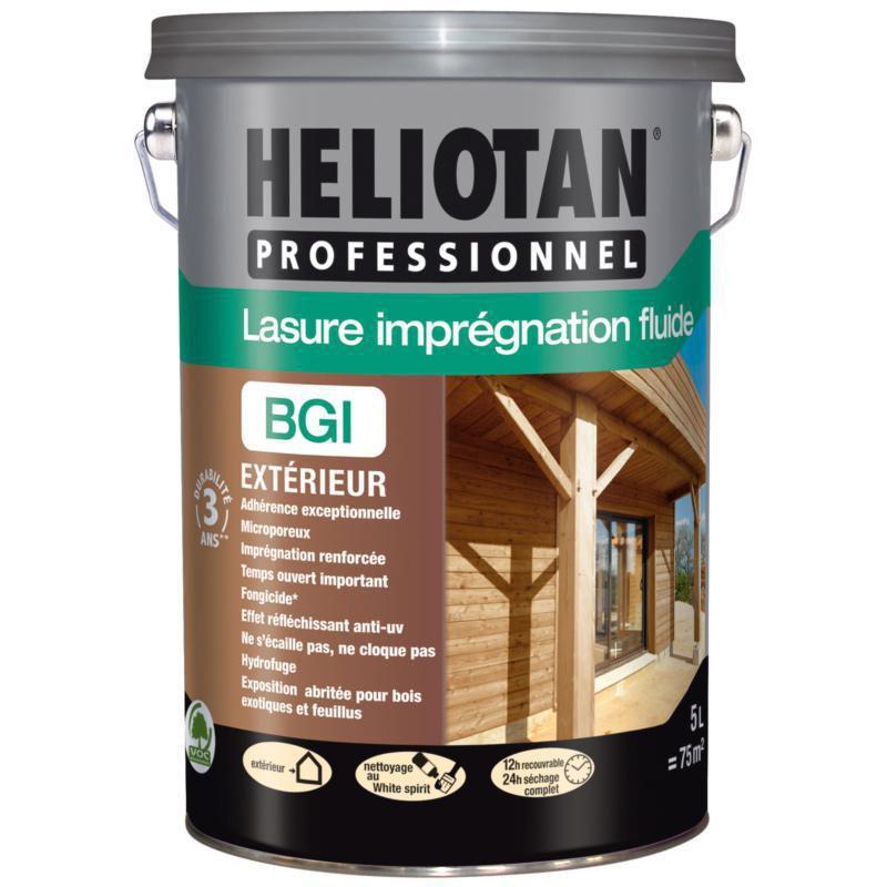 Lasure Bois Fluide Satinée Heliotan BGI Chêne Foncé Pot De 5 Litres - PPG -  Outillage - Quincaillerie - Distributeur De Matériaux De Construction -  Point.P