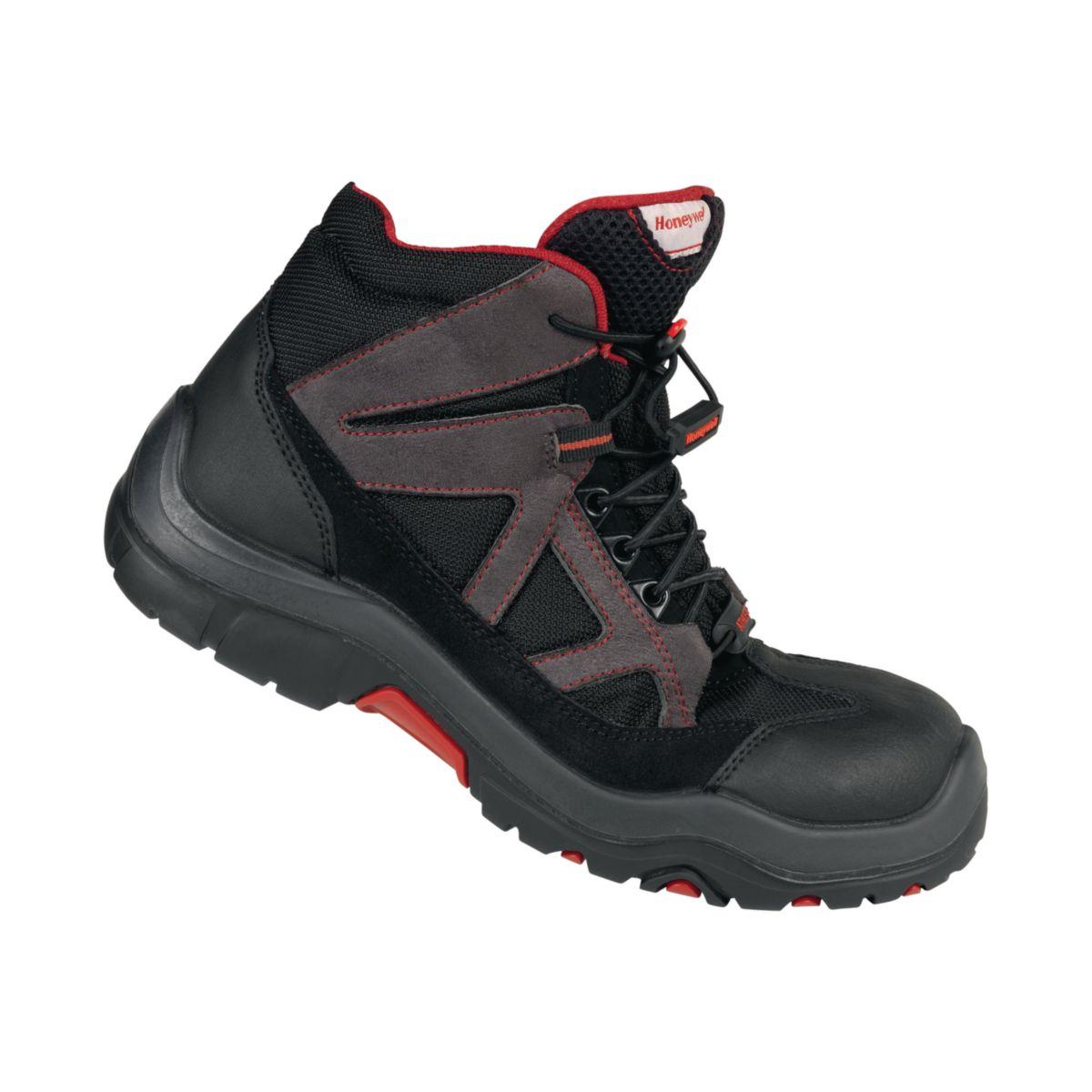 De Grisnoir Sécurité Chaussures Taille S3 Mid 43 Haute Ascender Mi Homme xthrdsCQ