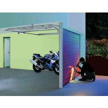 Motorisation sur rail k pour porte de garage procom 10 3 tubauto menuiser - Porte de garage point p ...