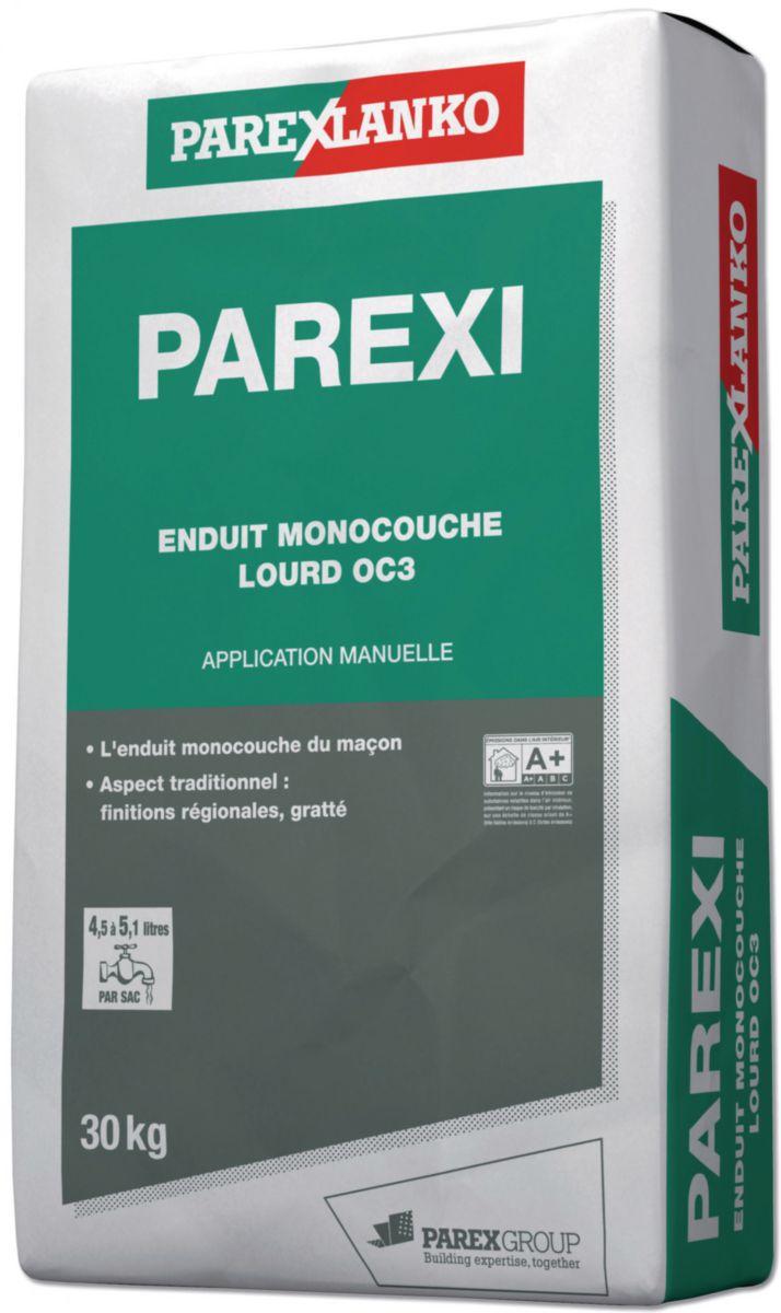 Parexlanko Enduit Manuel Parexi Pour Décoration De Façade