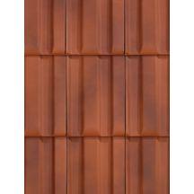 Tuile mega nuag koramic wienerberger 335x261 mm koramic couverture distributeur de for Koramic tuile