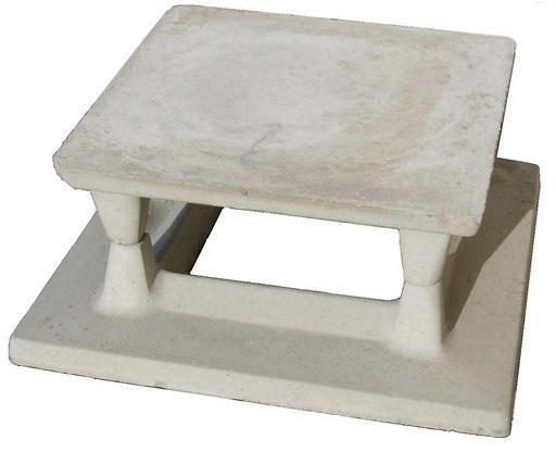 Aspirateur de cheminée Ventyl en béton 25 x 25