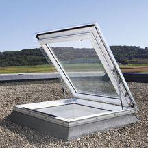 Fen tre coupole acc s toiture pour toit plat cxp s04e - Fenetre coupole pour toit plat ...