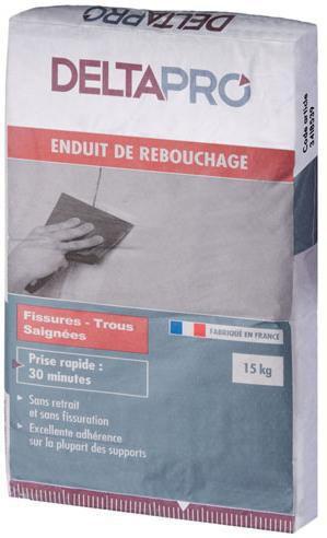 Enduit De Rebouchage DELTAPRO Sac 15 Kg   DELTAPRO   Plâtre   Isolation    ITE   Distributeur De Matériaux De Construction   Point.P