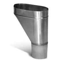 Cuvette de branchement n° 9 - inox FTE - Ø 80 mm