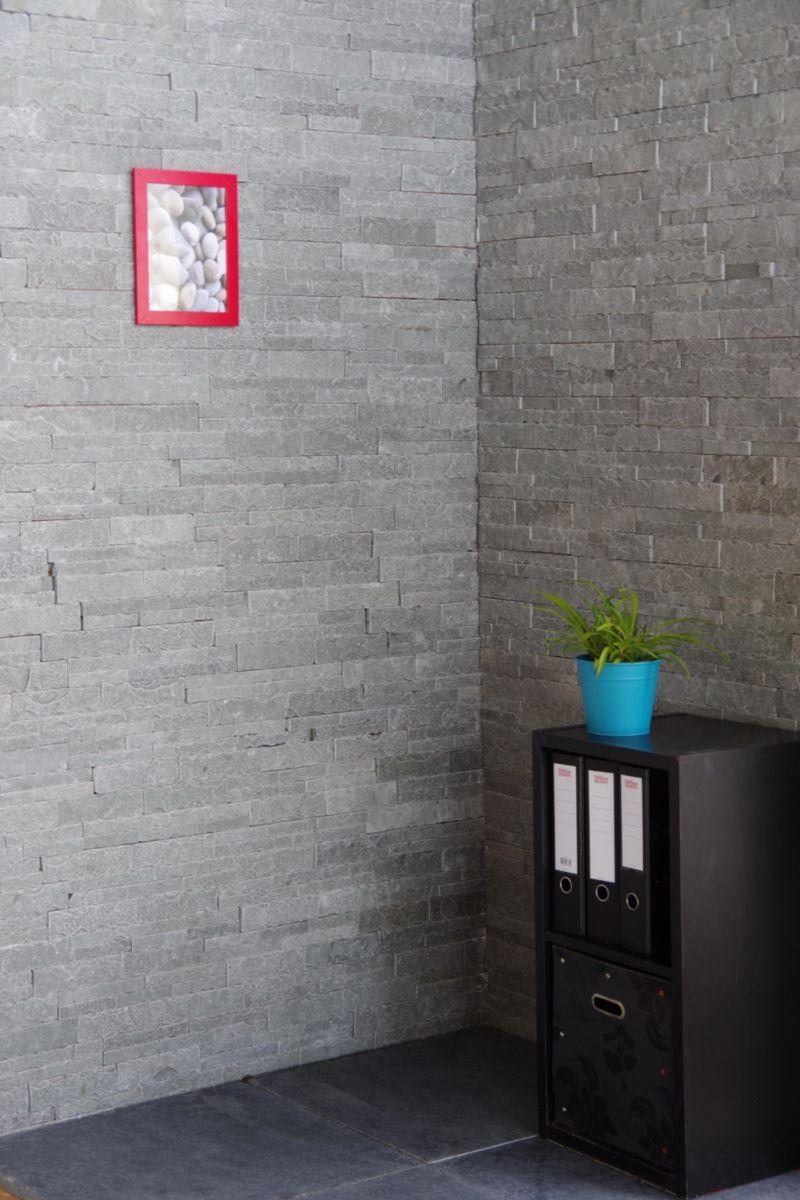 Parement Mural Interieur Exterieur Pierre Naturelle Bestone Gris 36x10x1 2 1 6 Cm