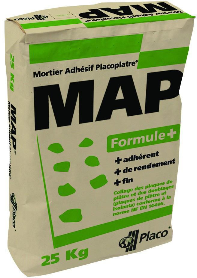 placo mortier colle map formule sac de 5 kg point p. Black Bedroom Furniture Sets. Home Design Ideas