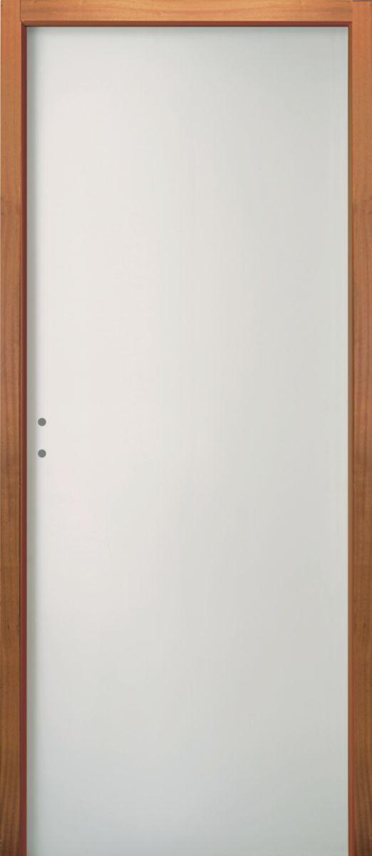 jeld wen bloc porte coupe feu 60 min ei60 huisserie tech 78 mm blanc jeld wen 204x93 cm. Black Bedroom Furniture Sets. Home Design Ideas