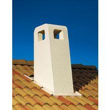 sortie de toit provence stp 230 cr pi ocre pente 30 36 6 conduit 230 mm poujoulat. Black Bedroom Furniture Sets. Home Design Ideas
