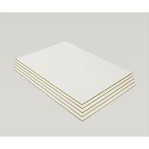 panneau mdf laqu blanc 2100x1220 mm p 3 mm panneaux de correze bois et panneaux. Black Bedroom Furniture Sets. Home Design Ideas