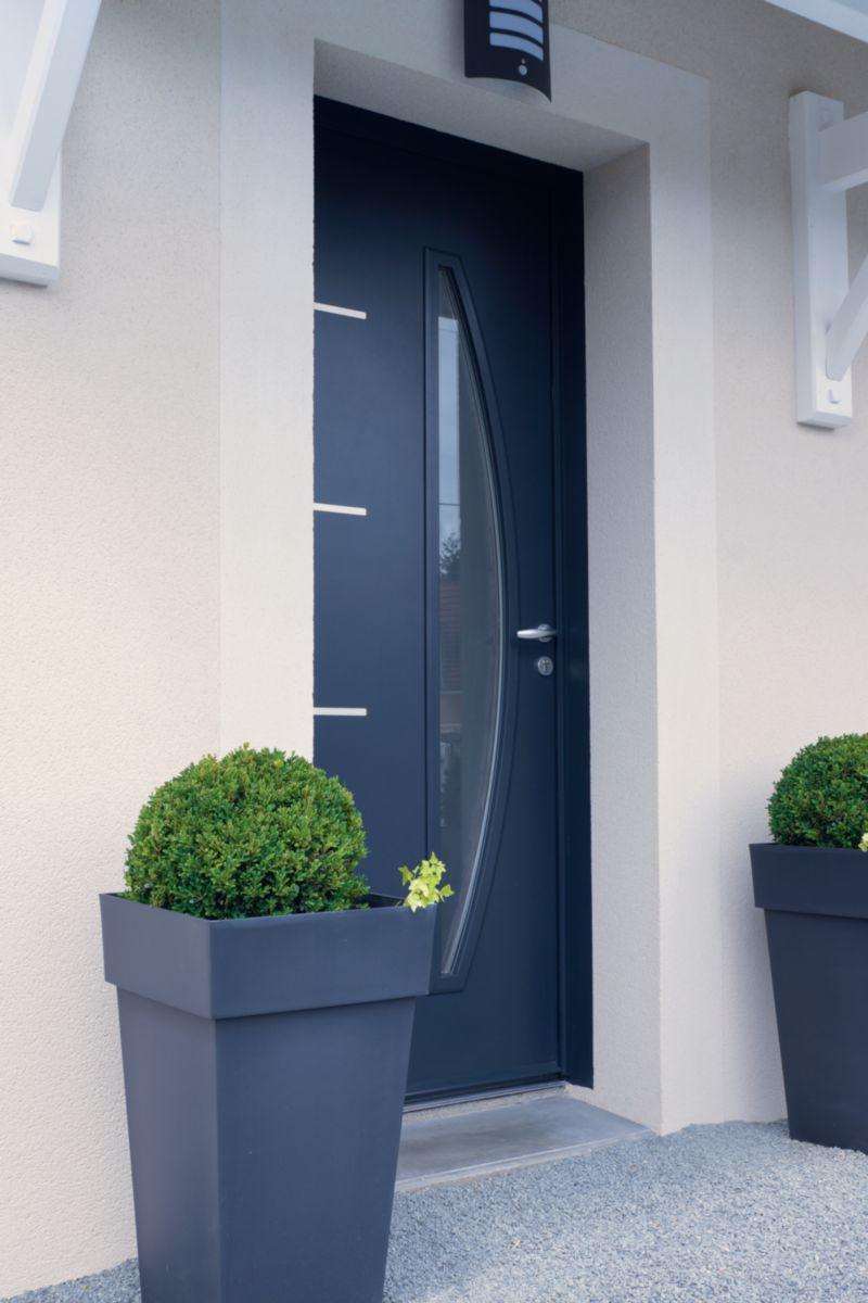 zilten porte d 39 entr e acier mod le cedousa point p. Black Bedroom Furniture Sets. Home Design Ideas