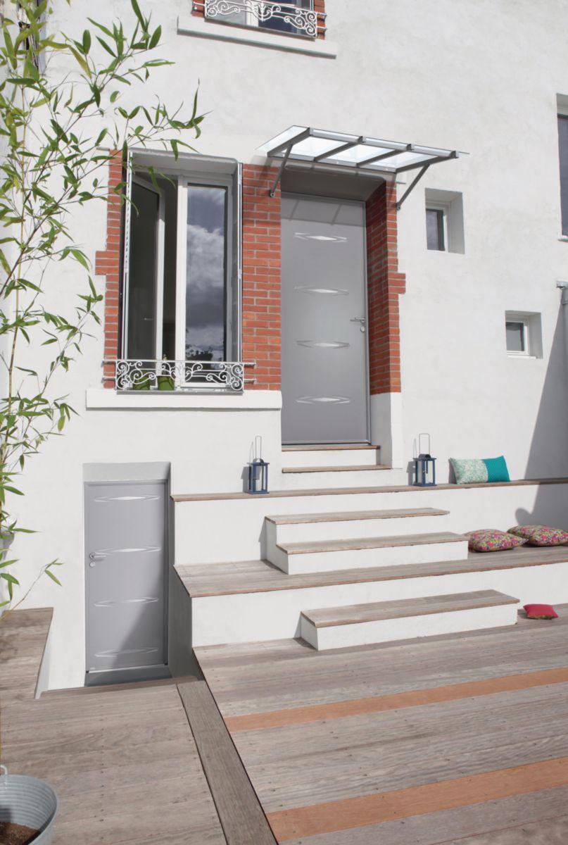 bel 39 m porte d 39 entr e acier 48 68 mod le panth re point p. Black Bedroom Furniture Sets. Home Design Ideas