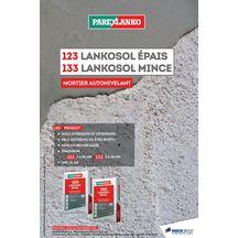 Mortier De Ragréage Autonivelant Pour Sol Intérieur Et Extérieur 133  Lankosol Mince Parexlanko épaisseur 3 à