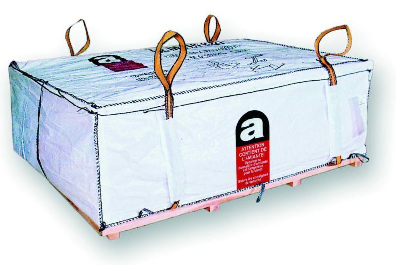 Baobag Dépôt Bag Pour L Amiante Liée 160x110x50 Cm Point P