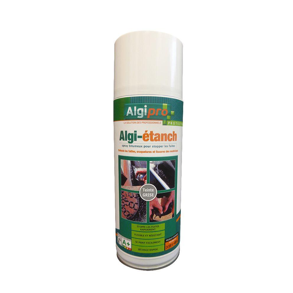 Algimouss Spray Bitumineux Algiétanch Noir 400 Ml