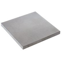 Dalle b�ton press� Piana gris min�ral Les Exclusifs - 50x50 cm �p. 2,5 cm