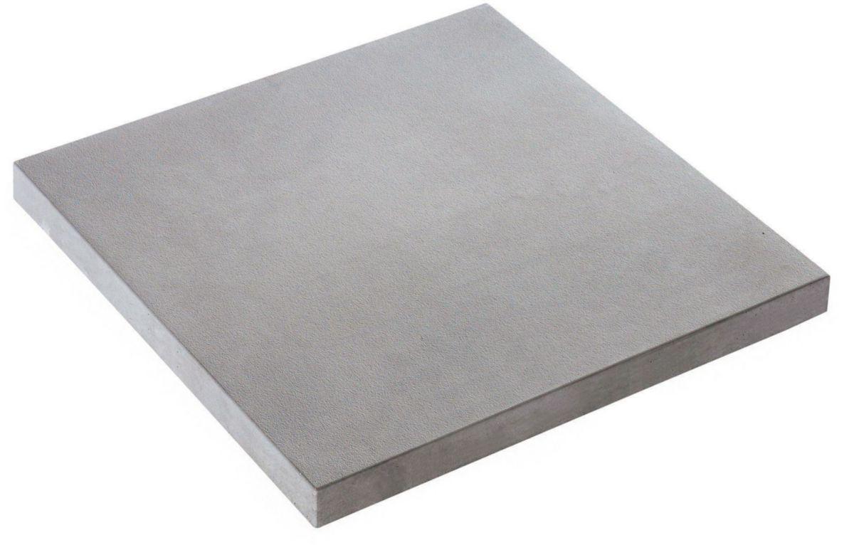 Alkern Dalle Beton Presse Structuree Piana Gris 50x50x2 5 Cm Point P