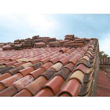 Plaque en fibro ciment soutuile 230 fr eternit flamm e pour support tuiles ca - Fibro ciment toiture ...