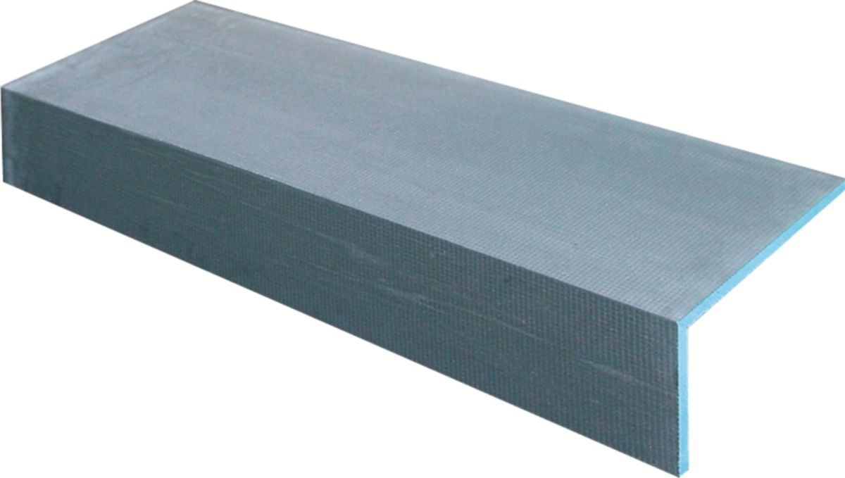 Coffre Dhabillage En L Polystyrène Extrudé Wedi Mensolo L 200x200x2500 Mm ép20 Mm