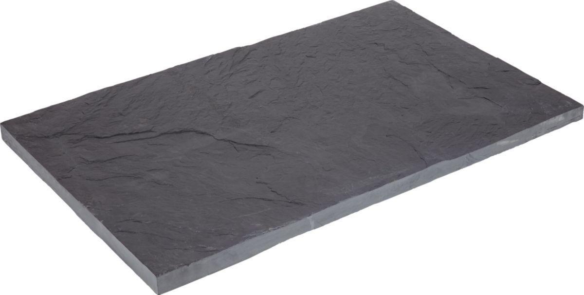 Cada Palis Ardoise Noir 100x30 Cm Ep 3 5 Cm Point P