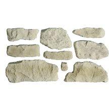 Parement pierre reconstituée Pierre de Causse Orsol ton naturel ...