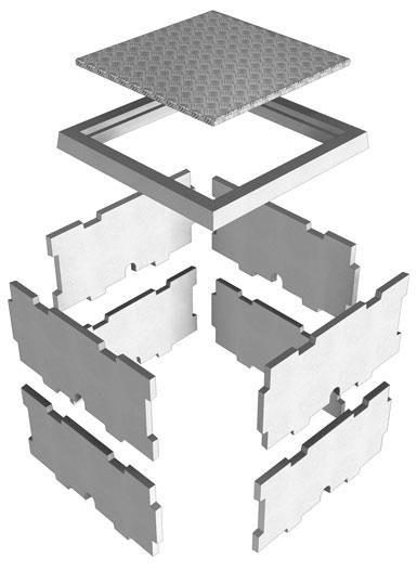 Couvercle Pour Bac Compteur Deau Normandie Béton Aluminium 86x86 Cm