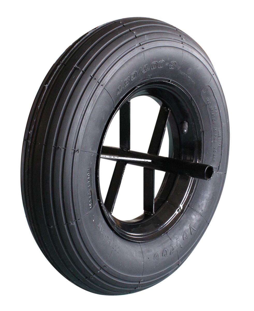 novipro roue de brouette 400 mm point p. Black Bedroom Furniture Sets. Home Design Ideas