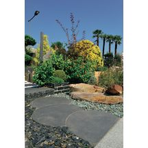Gravier (gravillons) décoratif concassés pour le jardin   Point.P
