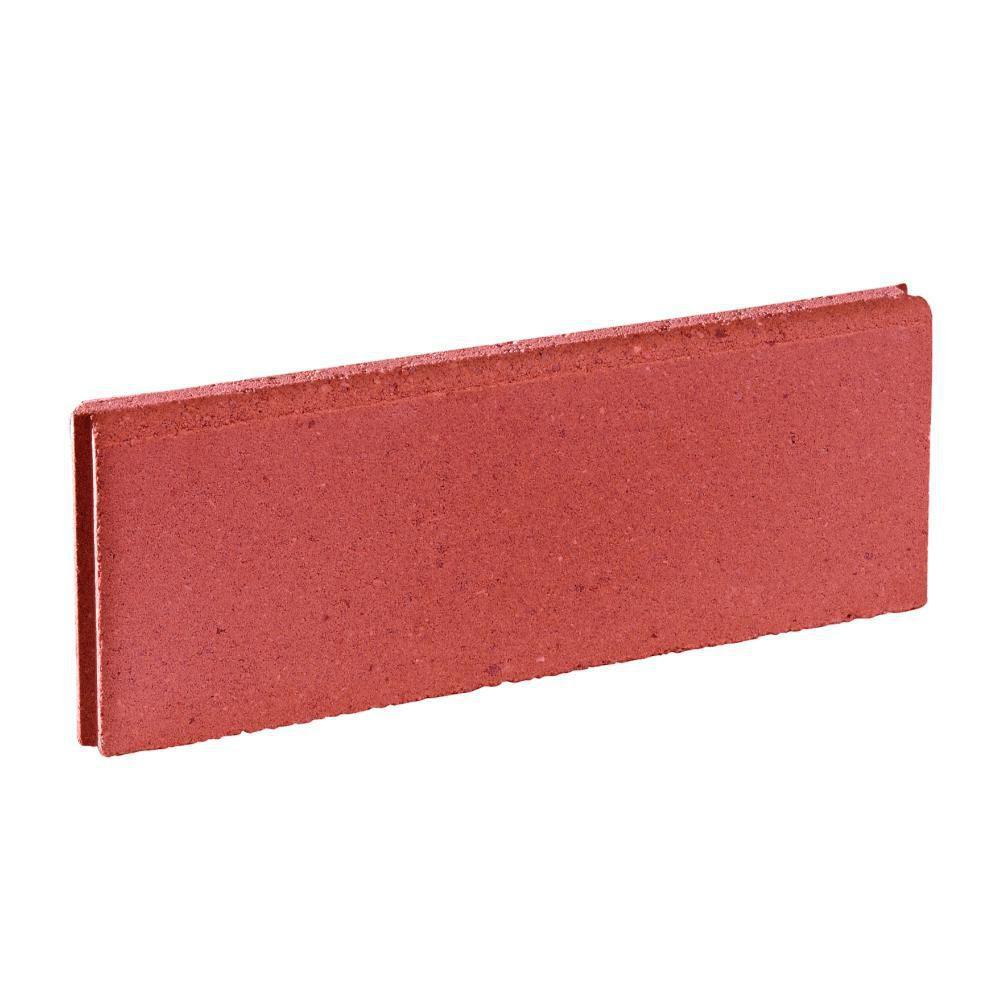 marlux alkern bordure lisse rouge 50x20 cm p 5 cm. Black Bedroom Furniture Sets. Home Design Ideas
