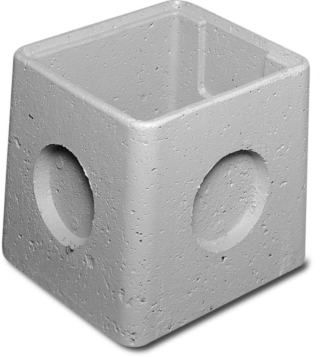 Legouez regard b ton avec embo tement rm 30 30x30x29 - Rehausse chambre de visite beton ...