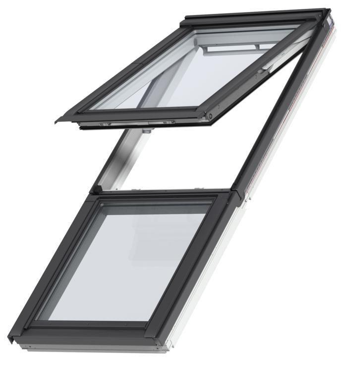 Extrêmement Fenêtre fixe pour verrière plane GIL Tout Confort - UK34 134x92 cm  UF39