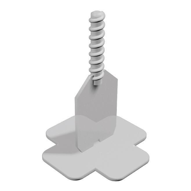 Pavi Lift Croisillon Standard Blanc Joints 1 A 12 Mm Sachet De 200 Pcs Point P