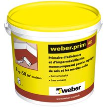Primaire monocomposant pour la r novation ad weber jaune seau 8 kg weber - Weber prim ad ...