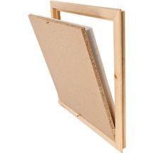 trappe de visite joints cadre mdf 60x60 cm p 40. Black Bedroom Furniture Sets. Home Design Ideas