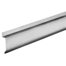 Bande solin biseau zinc naturel devt 100mm paiss 0 65 - Bandes porte solin ...