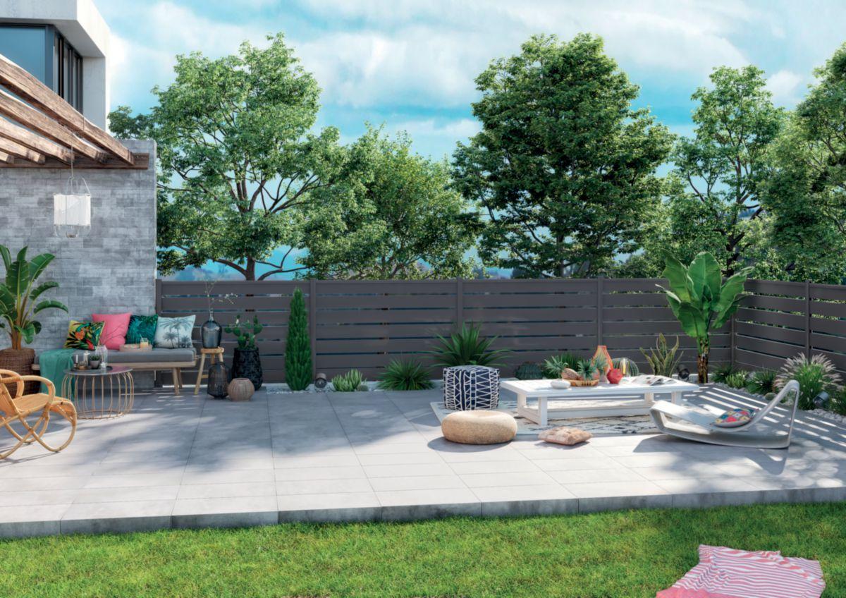 silvadec lame cran bois composite atmosph re gris. Black Bedroom Furniture Sets. Home Design Ideas