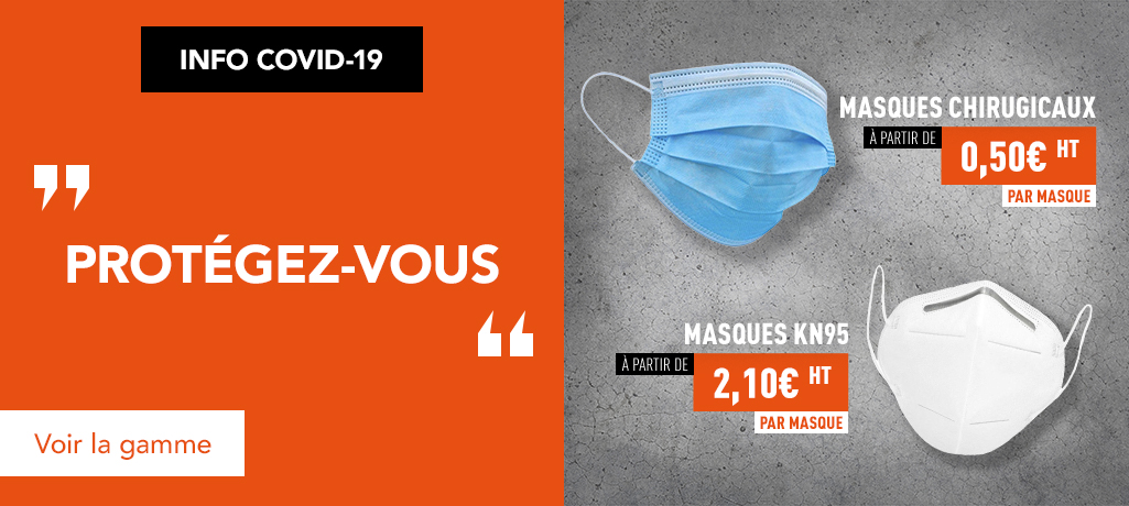 Masques chirurgicaux et KN95