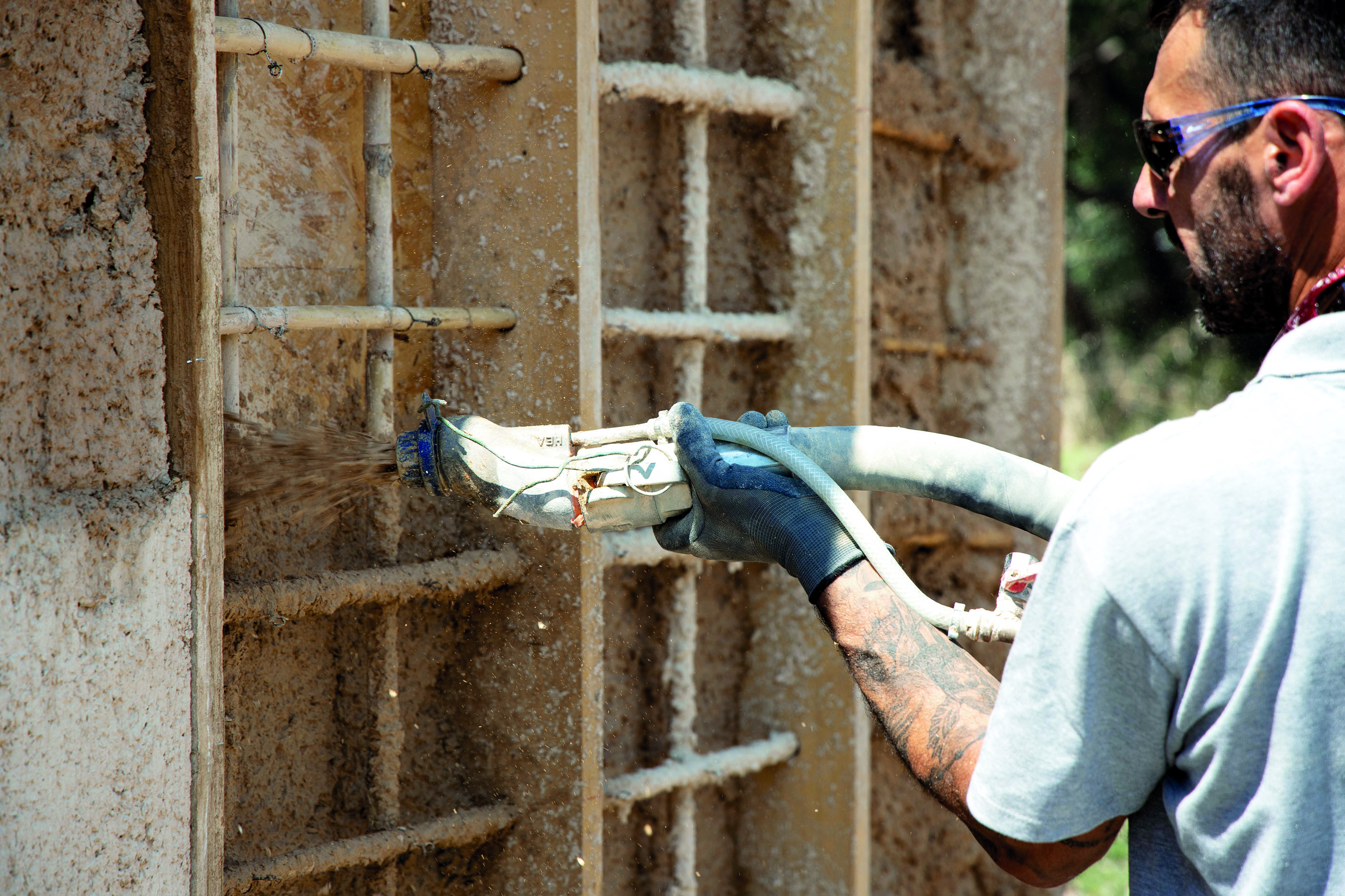 La terre d'excavation, matériau d'avenir pour la construction durable