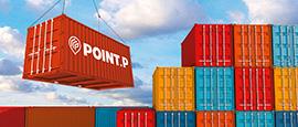 Containers Point.P pour le service Export