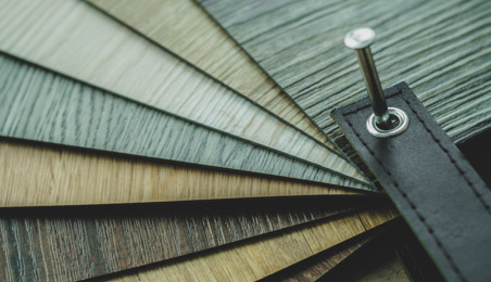 Nuancier de sols vinyle