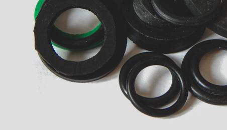 Ensemble de joints en PVC noir