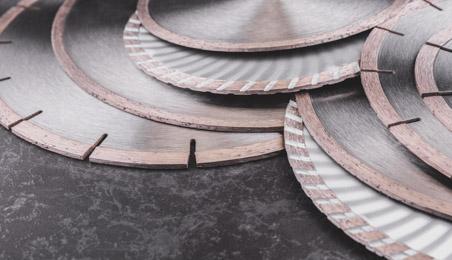 Ensemble de disques pour scie circulaire ou meuleuse