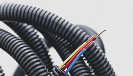 Gaines PVC de réseau élctrique