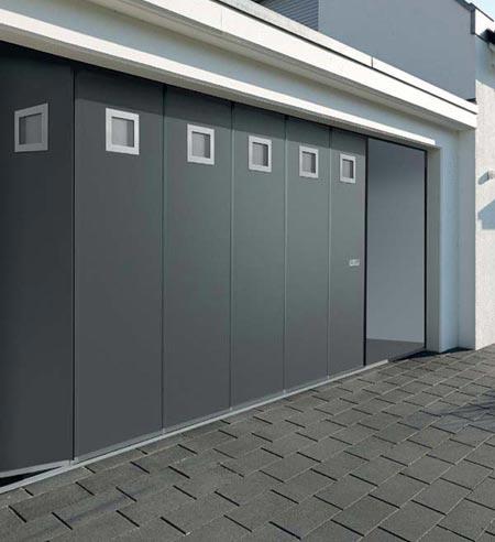 bien prendre les dimensions d'une porte de garage sectionnelle latérale